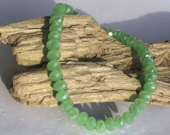 Gorgeous 6mm Austrian Crystal Stretch Bracelets