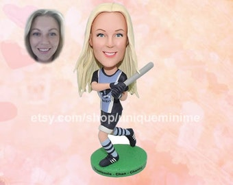Personalized bespoke Custom Bobblehead dolls.   Unique gifts for men, women, wedding parties.   Customize your Bobblehead doll