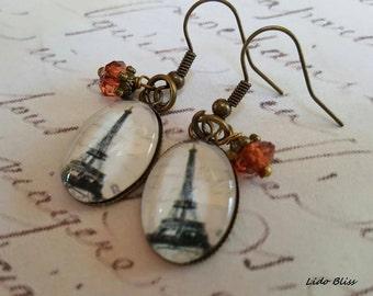 French Earrings Eiffel Tower Earrings - ON SALE