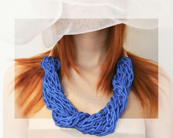 Knitted Necklace / I002