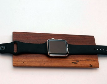 Apple watch Docking Station, charging station, iwatch stand, wood stand, birthday gift, gift for her, gift for him, valentine, graduation