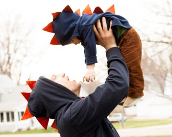Dinosaur Hoodie - Toddler/Kids - Dinosaur Costume - Dragon Hoodie - Sweatshirt - Gift - Halloween - Kid's Costume