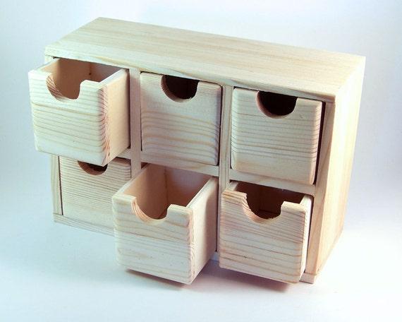 Desk Accessories Wood Desk Organizer Office By Cocoonhandmade