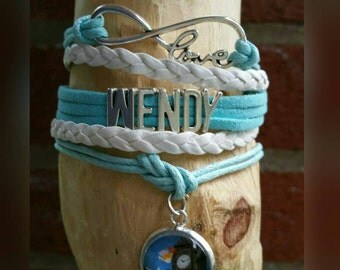 Infinity Wendy or John Darling Bracelet