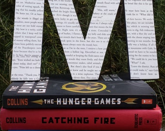 "Hunger Games, 8"", Book Page, Wall Letter"