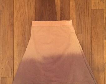 Dip dye skirt