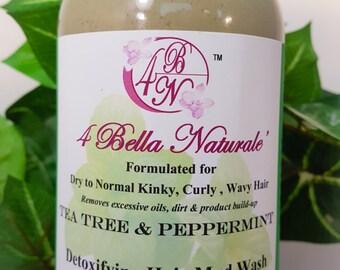 Natural Hair Detox  Mud Wash-  12oz