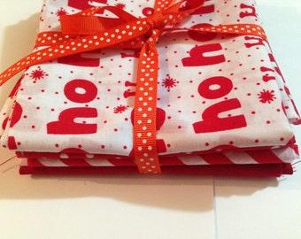 A bundle of Christmas Fabric