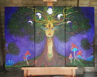 Original Earth our Mother Painting ~ Sold!