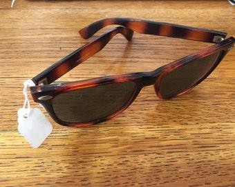 Vintage Tortoise Frame Sunglasses