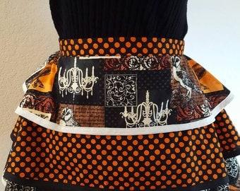 Women's Halloween cooking apron.
