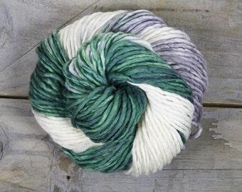 Bulky Superwash Merino Wool & Nylon Yarn - Frosted Pine