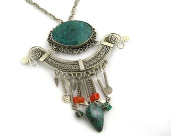 70s Turquoise Necklace