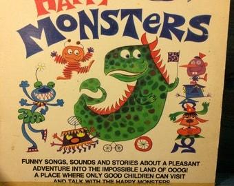 Happy Monsters -Happy House Records -Funky Vinyl Record - 1975