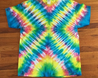 Rainbow X Tie Dye T-shirt