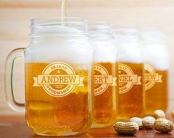 engraved mason jar mugs drinking jar glasses mason jar cups gift - Mason Jar Glasses