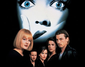 SCREAM Movie Poster Horror Wes Craven
