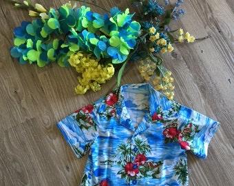 Hawaiian or Luau Boy's and Infant  Shirt