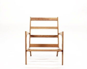 GROGG Chair ⎮ Armrest Chair Mid-Century modern Chair Solid wood Chair Scandinavian Chair