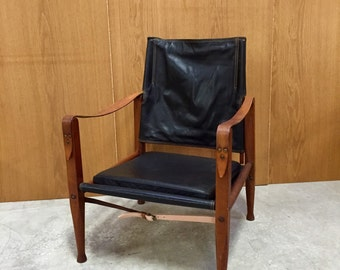 Kaare klint safari chair, mid century chair