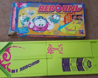 TYCO Rebound Game Board 1994