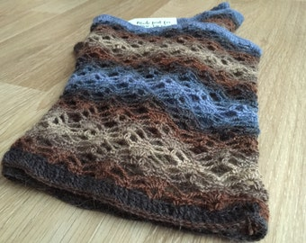 Woman's Crochet Lace Cowl, Scarf, Gift for Her