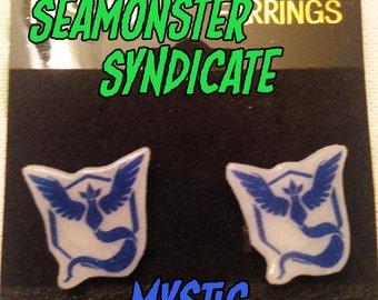 Pokemon Team Mystic Earring Studs