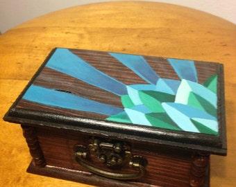 Hand-painted box