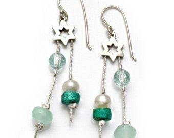 Shimmers Star Earrings