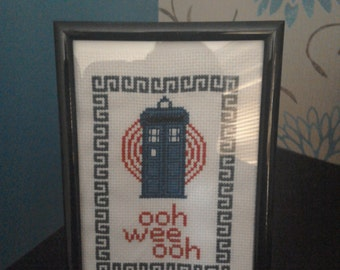 Doctor Who Cross Stitch