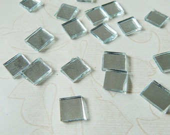Square Shaped Mirrors, Craft Mirrors, Mirror Embellishments, Glass Mirrors