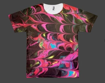 Trippy Marble Shirt 2