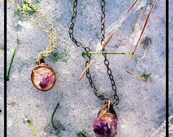 Amethyst Birch Necklace