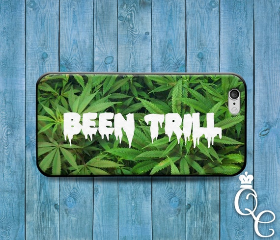 iPhone 4 4s 5 5s 5c SE 6 6s 7 plus iPod Touch 4th 5th 6th Generation Cool Been Trill Green 420 Swag Swerve Funny Phone Cover Cute Hip Case