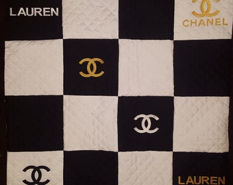 Chanel Inspired Quilt