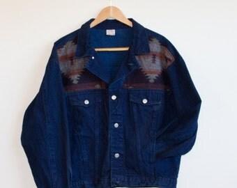 Oversized Upcycled Denim Jacket
