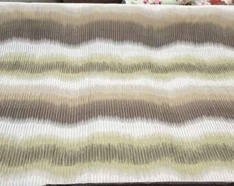 "Contemporary Small Scale Stripe La Brea Reseda 55"" fabric By The Yard"