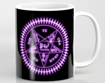 Black Butler Sebastian Michaelis Sigil Mug, 4 Types Available! Original Art