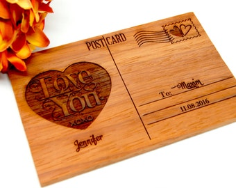 Personalized post card