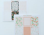 Peach & Pink Floral Theme (EC Vertical) Stickers