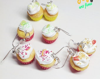 cupcake earring