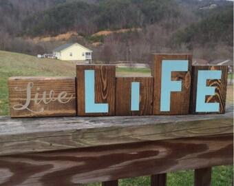 Live Life Blocks