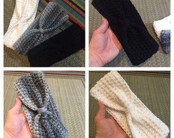 Knotted headbands (3 pack)