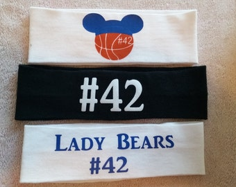 Personalized Sports Headbands - FREE SHIPPING