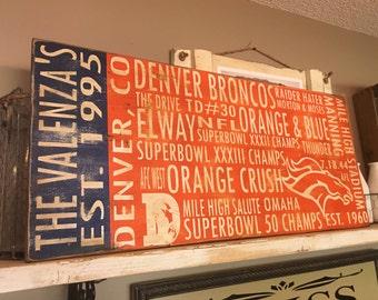 Denver Broncos Subway