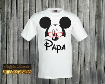 Papa Disney Mickey Shirt