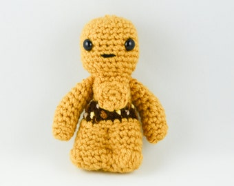 Star Wars C3PO Crochet Toy / Amigurumi Star Wars