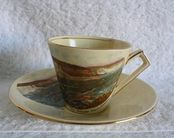 Vintage 1970's Royal Winton Tea Cup and Saucer from Niagara Falls Canada