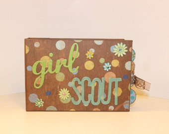 Girl Scout Scrapbook Mini Album