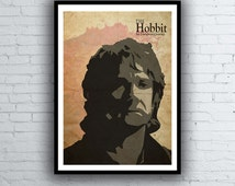 The Hobbit An Unexpected Journey Poster - Bilbo Baggins Poster